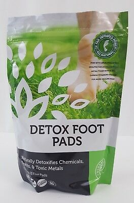Naturally  Detox  with Foot Pads all Organic Ingredients