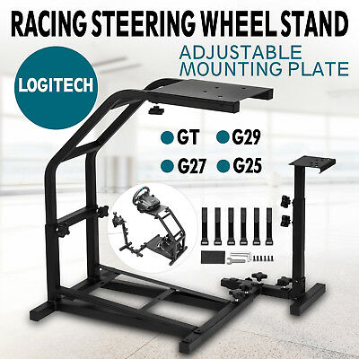 Racing Simulator Steering Wheel Stand for Logitech frame Plate Wheel-mounted