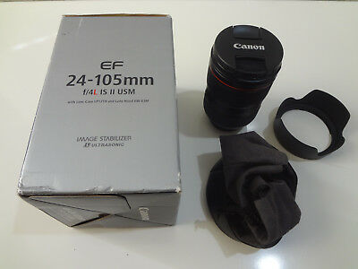 Canon EF 24-105mm f/4 II IS L USM Lens (READ DESCRIPTION)