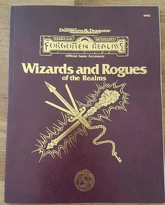 Wizards and Rogues of the Realms AD&D 2nd Ed. Spieler-Handbuch Erweiterung