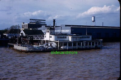 Original Slide, EDWIN N. BISSO at Jackson Ave. Ferry, New Orleans 1958