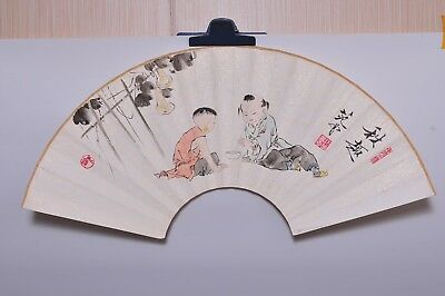 Attributed to  Fan-Zeng 范曾 (Fans Painting) (196)