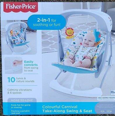Fisher Price Take along Swing and Seat. Unused Unopened.