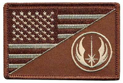 Tactical USA / Jedi Master Flag Embroidered Patch