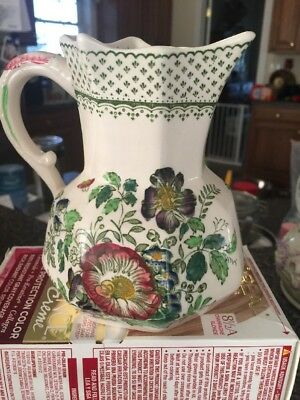 Mason's patent ironstone Paynsley Patt England Creamer Or Small Pitcher Floral