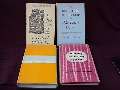Lot of 4 Books - Related to The Faerie Queene