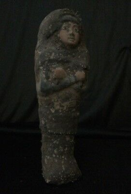 ANCIENT EGYPTIAN SHABTI EGYPT Antique Ushabti GODS STATUE Old Kingdom STONE BC