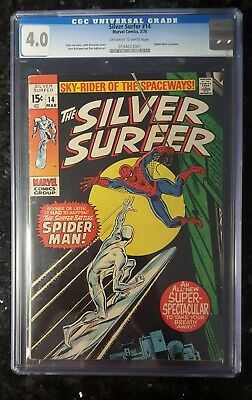 The Silver Surfer #14 Cgc 4.0