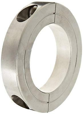 """Climax H2C-268-S Two-Piece Clamping Collar, Stainless Steel, Bore  2-11/16"""""""