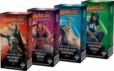 Challenger Deck Set of 4 (ENGLISH) FACTORY SEALED BRAND NEW MAGIC MTG ABUGames