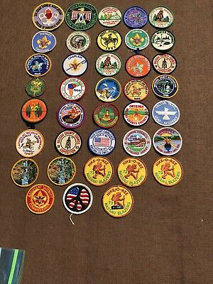 Nice Vintage Mixed Bsa Boy Scouts Of America Patches Badges Lot Of 38