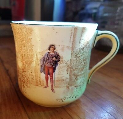 Royal Doulton cup orphan Shakespeare series ware Romeo