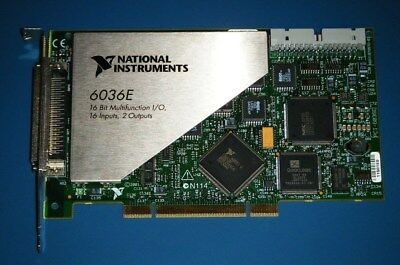 NI PCI-6036E 16-Bit Multifunction DAQ, National Instruments *Tested*