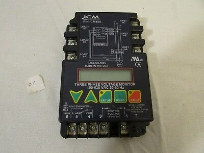 ICM Controls ICM450 Three Phase Voltage Monitor