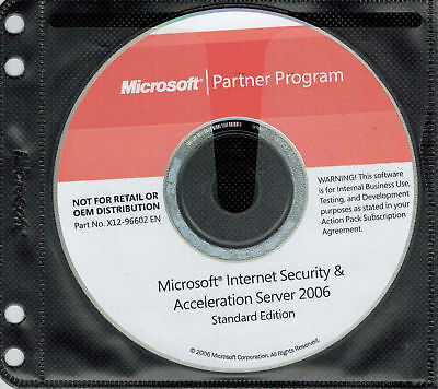 Microsoft Internet Security and Acceleration ISA Server 2006 Standard Edition