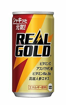 Coca Cola Japan REAL GOLD Drink 190mL Can From Japan