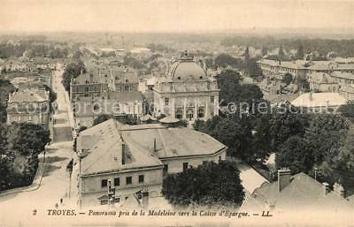 13102141 Troyes Aube Panorama pris de la Madeleine vers la Caise dEpargne Troye