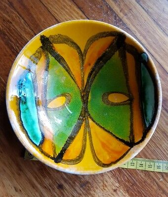 Poole Pottery Delphis  abstract 56 Carol Cutler bowl