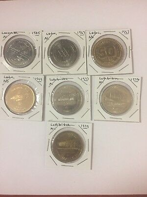Trade Sollars Medals Tokens So Called Dollars Mixed Lot Of 7 #19