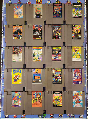 Various Nes Nintendo Games You Select One From The Lot