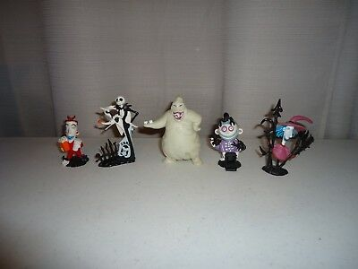 Nightmare Before Christmas Pvc Applause Set Of 5