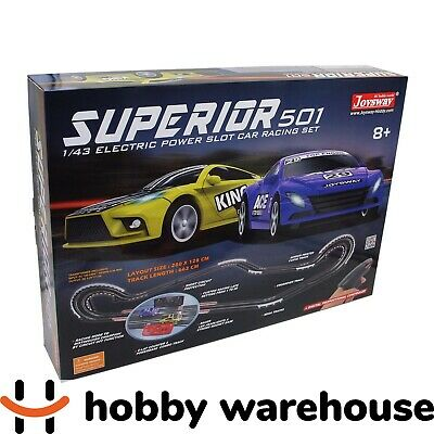Joysway Superior 501 1/43 Slot Car Racing Set