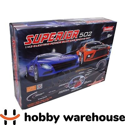 Joysway Superior 502 1/43 Slot Car Racing Set