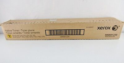 Xerox 006R01220 Yellow Toner Cartridge DocuColor 240 Genuine New Sealed Box