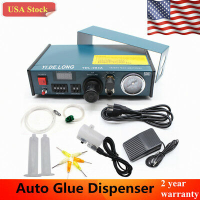 Auto Glue Dispenser Solder Paste Digital Display Liquid Controller Dropper USA