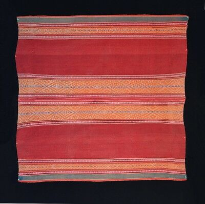 MARVELOUS OLD ANDES INDIAN CEREMONIAL TRIBAL TEXTILE Peru-Like Mantle TM12877