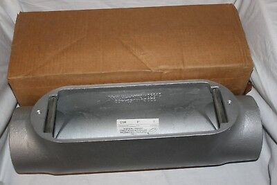 """SEPCO Type: C, 4 inch Condulet Outlet Body, Malleable Iron With Rollers 4"""" NEW"""