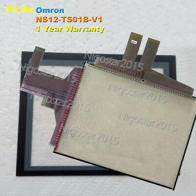 for Omron NS12-TS01B-V1 Touch Screen Glass with Protective Film 1 Year Warranty