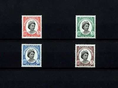 Bahamas - 1959 - Qe Ii - Centenary - First Postage - 4 X Mint - Mnh Set!