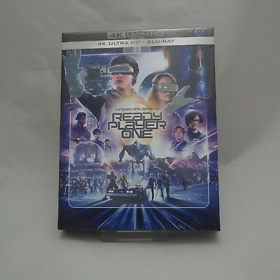 Ready Player One - 4K UHD & Blu-ray Steelbook Full Slip Case Limited Edition