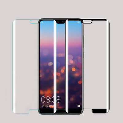 5D Premium Tempered Glass Screen Protector Fr Huawei Mate Honor 10 P20 Pro Lite
