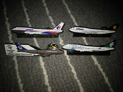 4 Airlines Pin  Official Team Partner 2000 Olympic Games