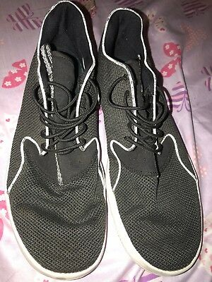 newest 65247 603bf ... promo code mens nike air jordan eclipse trainers running black white  size 13 724010 010 ba702