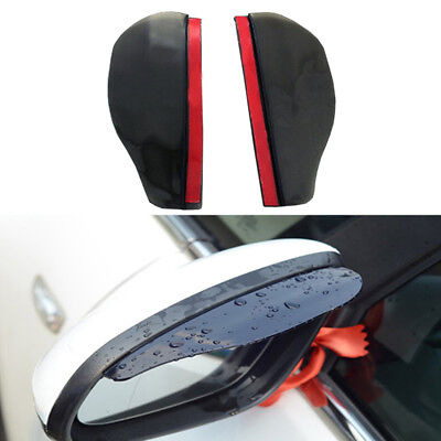 Universal Car Accessories Rearview Rainproof Blades 1 Pair Rearview Rain Shade