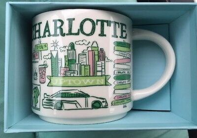 Starbucks Charlotte 2018 Been There Collection Mug, new in box