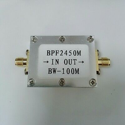 2450MHz 2.4G Bandpass Filter WiFi Bluetooth Zigbee Anti-interference Filtering