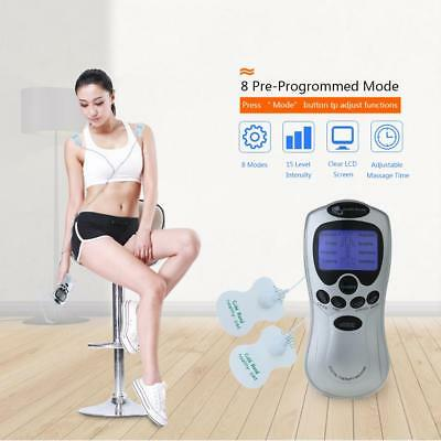 Tens Machine Digital Therapy Body Massager Pain Relief Acupuncture Back Q5B0