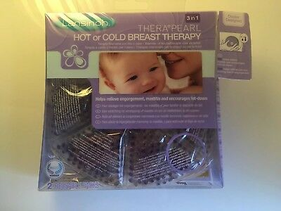 lansinoh pearl therapy Breast Feeding Hot/cold new mum pain relief new 3in1