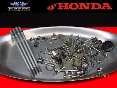 2000-2007 Honda XR650 XR650R Engine Motor Hardware Lot Cylinder Bolts Nuts Screw