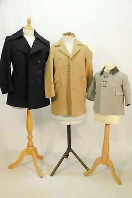 3 x Childrens 1940s Style Coats