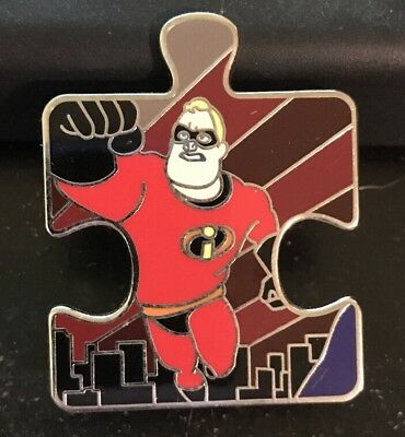 Pixar Character Connection Puzzle Mr. Incredible LE 900 Disney Pin 99611