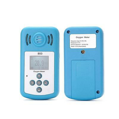Magic KXL-803 LCD Oxygen Concentration Meter Detector Sound-light Alarm hy#17