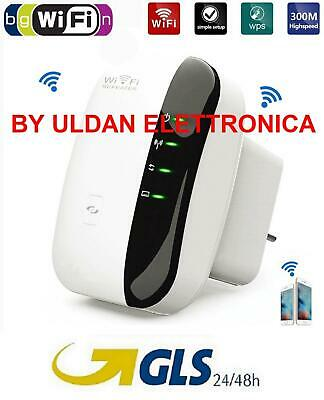 Ripetitore Repeater Wifi-N Hotspot Wireless Extender Amplificatore Estendi Wifi