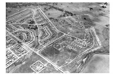 Canberra O'CONNOR aerial 1952 looking North modern digital Photo Postcard