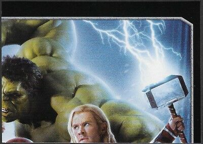 MARVEL - THE AVENGERS - STICKER COLLECTION - No 5 - THE AVENGERS - By PANINI