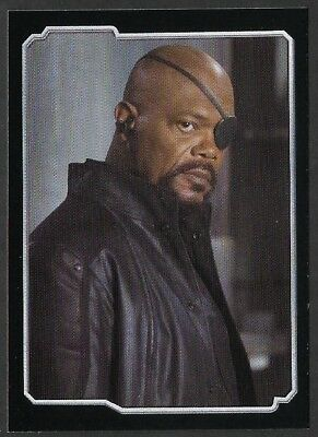 MARVEL - THE AVENGERS - STICKER COLLECTION - No 1 - NICK FURY - By PANINI